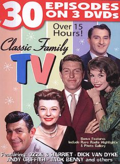 Classic Family TV DVD, 2004, 3 Disc Set