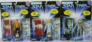 STAR TREK FIGURES LOT 3 PILOT EPISODES TALOSIAN KEEPER CAPTAIN PIHE