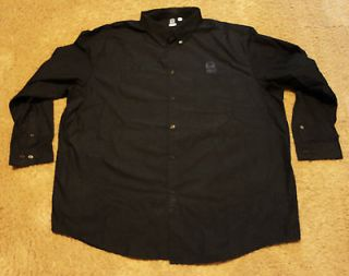 Taco Bell Uniform Employee Front Button Long Sleeve Shirt 4XL Barco