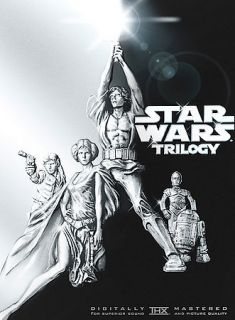 Star Wars Trilogy (DVD, 2004, 4 Disc Set, Widescreen)