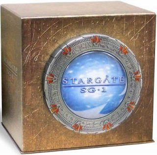 STARGATE SG 1 COMPLETE SERIES COLLECTION New 54 DVD Set Seasons 1 10