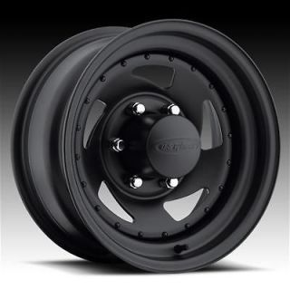 Wheel 204 Series Stealth Blade Black Steel Wheel 15x7 5x4.75 BC