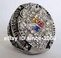 NFL 2008 Pittsburgh Steelers SUPER BOWL World Championship Champions