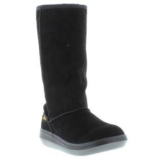 Rocket Dog Boots Genuine Sugar Daddy Womens Black Boot Sizes UK 4   8