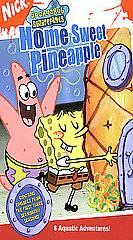 Spongebob Squarepants   Home Sweet Pineapple VHS, 2005