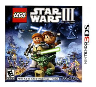 LEGO Star Wars III The Clone Wars Nintendo 3DS, 2011