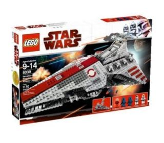 Lego Star Wars The Clone Wars Venator Class Republic Attack Cruiser