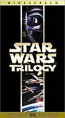 Star Wars Trilogy VHS, 2000, 3 Tape Set, Widescreen Special Edition