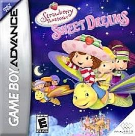 Strawberry Shortcake Sweet Dreams Nintendo Game Boy Advance, 2006