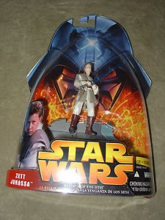 Star Wars ROTS Zett Jukassa Young Jedi in training Action Figure MOC