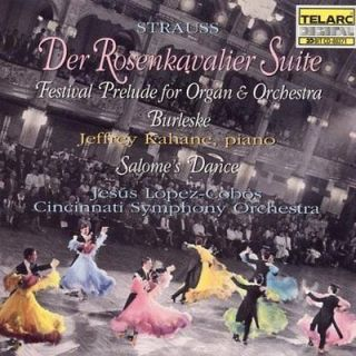 STRAUSS, RICHARD   RICHARD STRAUSS DER ROSENKAVALIER SUITE   NEW CD