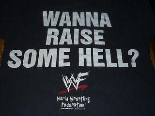 shirt RARE  STONE COLD STEVE AUSTIN  WWF  skull /lightning