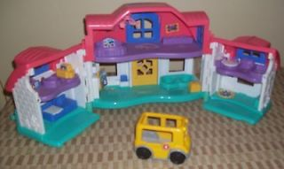Fisher Price Fun Sweet Sounds Dollhouse Accessories Tea Party House