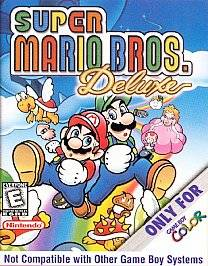 Super Mario Bros. Deluxe Nintendo Game Boy Color, 1999