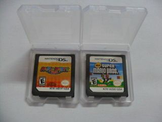 2pcs/lot Mario Party and New Super Mario Bros for nds Lite ndsi