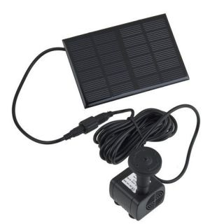 Solar Power Fountain Pool Water Pump Garden Outdoor Plant Watering 7V