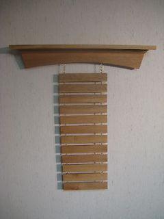 Mahogany AR Martial Arts Shelf Belt Display Rack, Karate, Tae Kwon Do