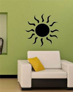 Tribal Tattoo Sun Cute Wall Vinyl Sticker Decals Art Mural T415