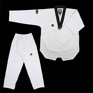 TaeKwonDo NS Extera DOBOK uniform uniforms Tae Kwon Do White/Black