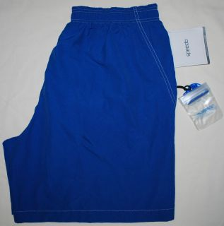 NWT Speedo Mens Swim Trunks Board Shorts XL Extra Large Water Proof