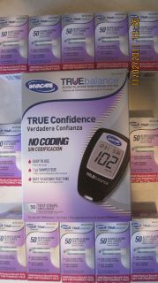 TRUEbalance Blood Glucose (600) Test Strips FREE METER KIT NO CODING