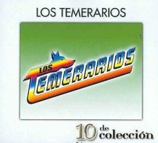 LOS TEMERARIOS   10 DE COLECCION [DIGIPAK] [LOS TEMERARIOS]   NEW CD