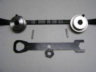 Ridgid Craftsman Table Saw Serpentine Belt and Pulley Kit Belt 417J
