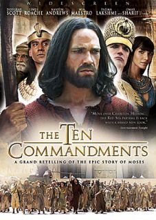 The Ten Commandments   The Complete Miniseries DVD, 2006