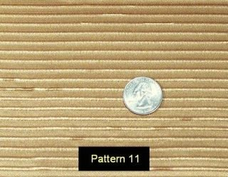 Radio Grill Cloth Pattern #11: Crosley Mirror Dials,+
