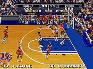 Tecmo Super NBA Basketball Super Nintendo, 1993