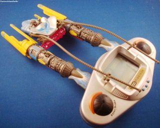 1990s HASBRO ELECTRONIC STAR WARS POD RACER HANDHELD VIDEO GAME