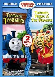 Thomas Friends Thomas and the Treasure Thomas, Percy the Dragon DVD