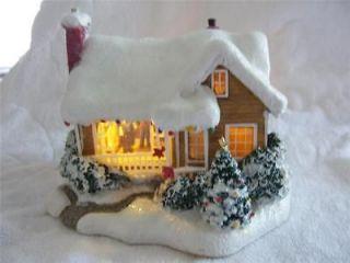 thomas kinkade christmas cottage in Collectibles