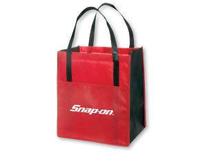 Genuine Snap On Tools METRO ENVIRO SHOPPER BAG   VERY NICE & HANDY
