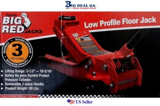 Torin Big Red 3 Ton Low Profile Floor Jack New