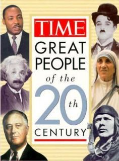 Times Greatest People of the 20th Century by Time Life Books Editors
