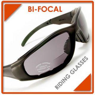 Newly listed Men Women Bifocal Motorcycle Sunglasses +2.50