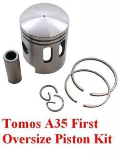 Tomos Targa LX Sprint A35 Piston Kit Rings Pin 1st Over