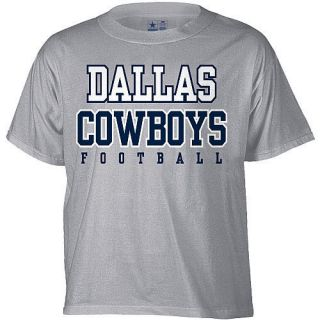 DALLAS COWBOYS Gray T shirt NFL Practice Tee