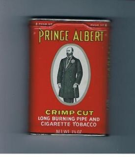 Prince Albert in the Can Vintage