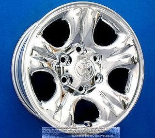 TOYOTA 4 RUNNER TUNDRA SEQUOIA TACOMA T100 16 INCH CHROME WHEELS RIMS