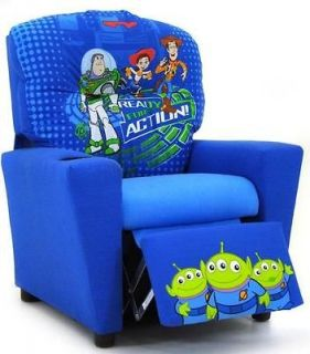~ Childrens Recliner ~DISNEYS TOY STORY 3 ~ ages 3 7 ~ MADE IN USA