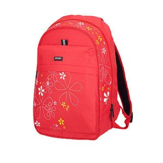 LYCEEM NEW Girl Blue Cherry Travel Sports Backpack School BookBag