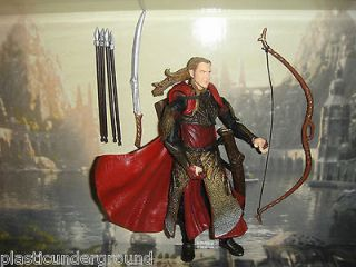 EXCLUSIVE HALDIR ELF ACTION FIGURE. LORD OF THE RINGS TOY BIZ COMPLETE