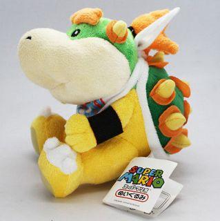 Super Mario Bros King Bowser Koopa Jr. Plush soft Doll Japan anime toy