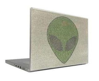Alien 7 & 8.9 Crystal Rhinestone Bling Laptop Sticker Sheet Cover