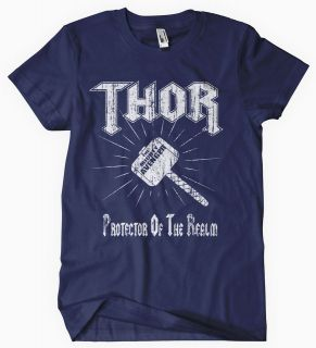 THOR T SHIRT THE AVENGERS CAPTAIN AMERICA THE MIGHTY DVD BLURAY GAME