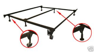 Adjustable Queen/King Metal Bed Frame assembly easy New