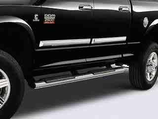 Dodge Ram Truck Chrome Tubular Side Steps Nerf Bars Running Boards OEM