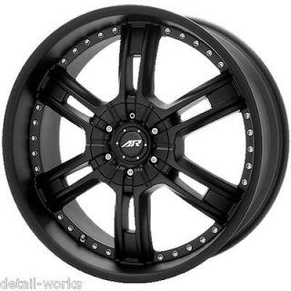 20 inch CHEVY GMC TRUCK GM 6 LUG BLACK RIMS WHEELS 6x5.5